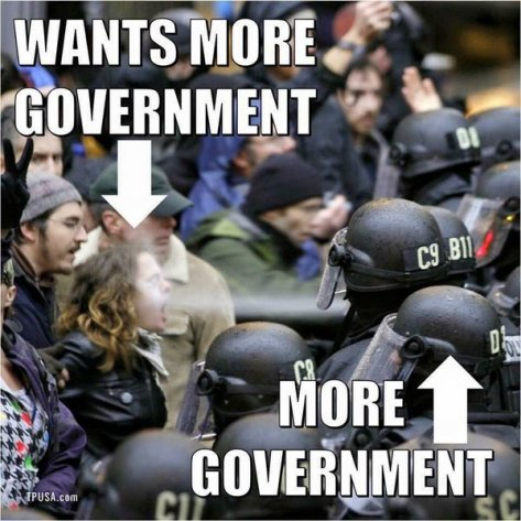 wants government government